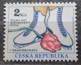 Poštovní známka Česká republika 1993 MS v krasobruslení Mi# 2