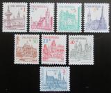Poštovní známky Česká republika 1993 Česká města Mi# 12-19