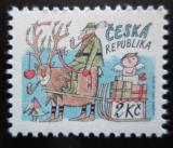 Poštovní známka Česká republika 1993 Vánoce Mi# 28