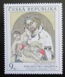 Poštovní známka Česká republika 1993 Umění, Strahovská madona Mi# 29