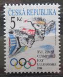 Poštovní známka Česká republika 1994 ZOH Lillehammer Mi# 34