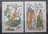Poštovní známky Česká republika 1994 Evropa CEPT, Marco Polo Mi# 36-37
