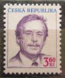 Poštovní známka Česká republika 1995 Prezident Václav Havel Mi# 70