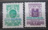 Poštovní známky Česká republika 1995 Stavební slohy Mi# 94-95