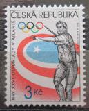 Poštovní známka Česká republika 1996 LOH Atlanta, hod oštěpem Mi# 116