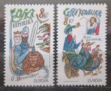 Poštovní známky Česká republika 1997 Evropa CEPT Mi# 144-45