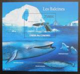 Poštovní známka Komory 2011 Velryby Mi# 3077 Kat 13€