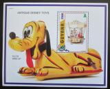 Poštovní známka Guyana 1996 Disney, staré hračky Mi# Block 517