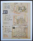 Poštovní známka Svatý Vincent 1995 Disney, rok prasete Mi# Block 329