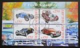 Poštovní známky Malawi 2010 Automobily Mi# N/N