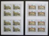Poštovní známky Česká republika 1998 Krásy naší vlasti Mi# 192-93 Bogen