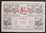 Poštovní známky Česká republika 1998 Vznik republiky, 80. výročí Mi# 196 Bogen