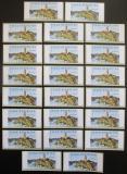 Poštovní známky Česká republika 2002 Hrad Zvíkov ATM známky TOP SET Mi# 2