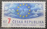 Poštovní známka Česká republika 1999 Rada Evropy, 50. výročí Mi# 213