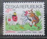 Poštovní známka Česká republika 1999 Mezinárodní den dětí Mi# 220