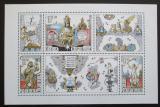 Poštovní známky Česká republika 2000 Praha - evropské město kultury Mi# Block 12