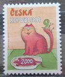 Poštovní známka Česká republika 2000 Poslední známka tisíciletí Mi# 278