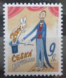 Poštovní známka Česká republika 2001 První známka tisíciletí Mi# 279