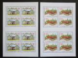 Poštovní známky Česká republika 2001 Krásy naší vlasti Mi# 303-04 Bogen