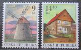 Poštovní známky Česká republika 2001 Mlýny Mi# 305-06