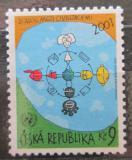 Poštovní známka Česká republika 2001 Dialog mezi civilizacemi Mi# 307