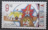 Poštovní známka Česká republika 2002 Evropa CEPT, cirkus Mi# 319