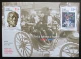 Poštovní známky Česká republika 2002 Česká kultura a Francie Mi# Block 16