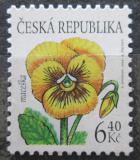 Poštovní známka Česká republika 2002 Maceška Mi# 330