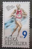 Poštovní známka Česká republika 2002 Emil Zátopek Mi# 331