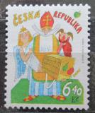 Poštovní známka Česká republika 2002 Mikulášská nadílka Mi# 335