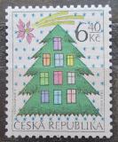 Poštovní známka Česká republika 2002 Vánoce Mi# 336