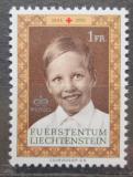Poštovní známka Lichtenštejnsko 1970 Princ Václav, Červený kříž Mi# 526