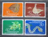Poštovní známky Lichtenštejnsko 1973 Fauna Mi# 591-94