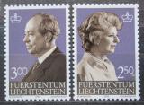 Poštovní známky Lichtenštejnsko 1983 Knížecí pár Mi# 828-29 Kat 9.50€