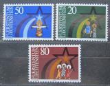 Poštovní známky Lichtenštejnsko 1983 Vánoce Mi# 831-33