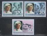 Poštovní známky Lichtenštejnsko 1985 Kněžna Gina, Červený kříž Mi# 875-77