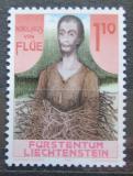 Poštovní známka Lichtenštejnsko 1987 Svatý Mikuláš z Flüe Mi# 918