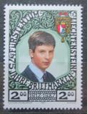 Poštovní známka Lichtenštejnsko 1987 Princ Alois Mi# 921 Kat 3.50€