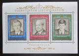 Poštovní známky Lichtenštejnsko 1988 Kníže František Josef Mi# Block 13 Kat 6.50€