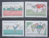 Poštovní známky Lichtenštejnsko 1988 LOH Soul Mi# 947-50 Kat 6€