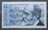 Poštovní známka Lichtenštejnsko 1989 Josef Rheinberger, skladatel Mi# 963 Kat 5€