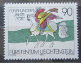 Poštovní známka Lichtenštejnsko 1990 Doručování pošty, 500. výročí Mi# 1004