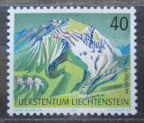 Poštovní známka Lichtenštejnsko 1991 Hory Mi# 1023