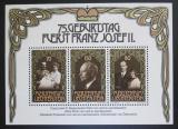 Poštovní známky Lichtenštejnsko 1981 Kníže František Josef II. Mi# Block 11