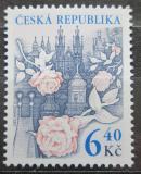 Poštovní známka Česká republika 2003 Růže nad Prahou Mi# 353