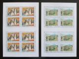 Poštovní známky Česká republika 2003 Krásy naší vlasti Mi# 355-56 Bogen