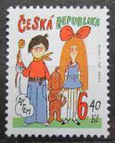 Poštovní známka Česká republika 2003 Mach a Šebestová Mi# 357