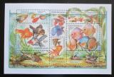Poštovní známky Česká republika 2003 Akvarijní rybičky Mi# Block 19