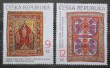 Poštovní známky Česká republika 2003 Orientální koberce Mi# 368-69
