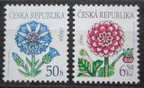 Poštovní známky Česká republika 2003 Květiny Mi# 377-78